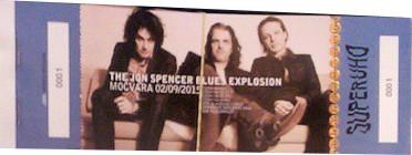 The Jon Spencer Blues Explosion – Močvara, Zagreb, Croatia (2 September 2015)
