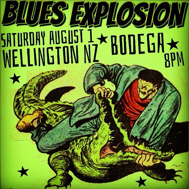 The Jon Spencer Blues Explosion – Bodega, Wellington, New Zealand (1 August 2015)