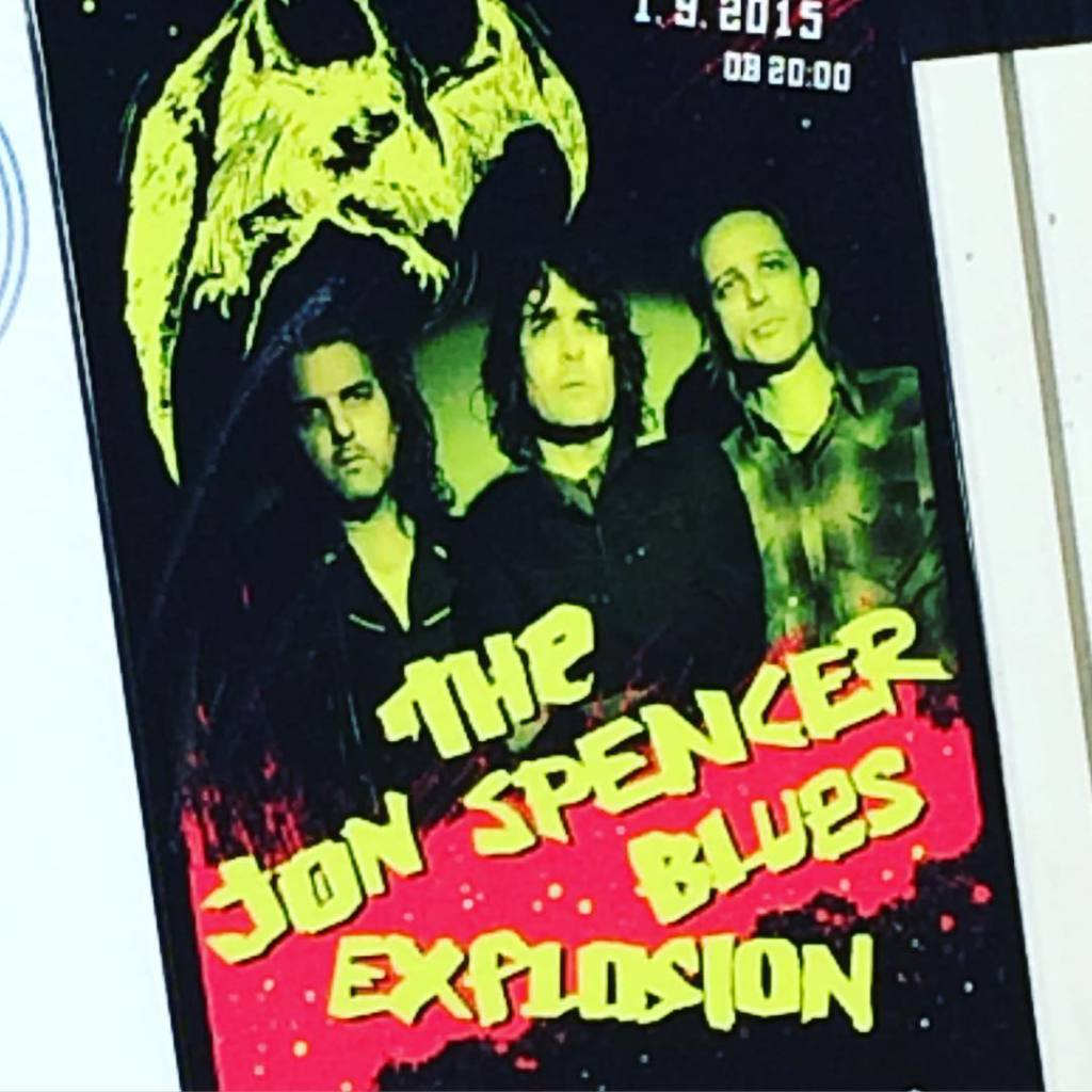 The Jon Spencer Blues Explosion – Kino Šiška, Ljubljana, Slovenia (1 September 2015)