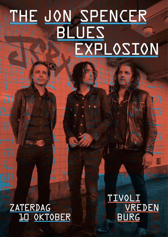 The Jon Spencer Blues Explosion - TivoliVredenburg, Utrecht, Netherlands (10 October 2015)