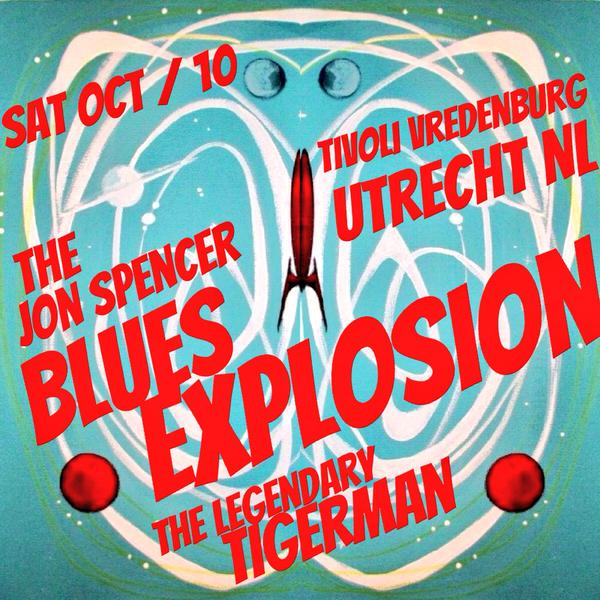 The Jon Spencer Blues Explosion – TivoliVredenburg, Utrecht, Netherlands (10 October 2015)