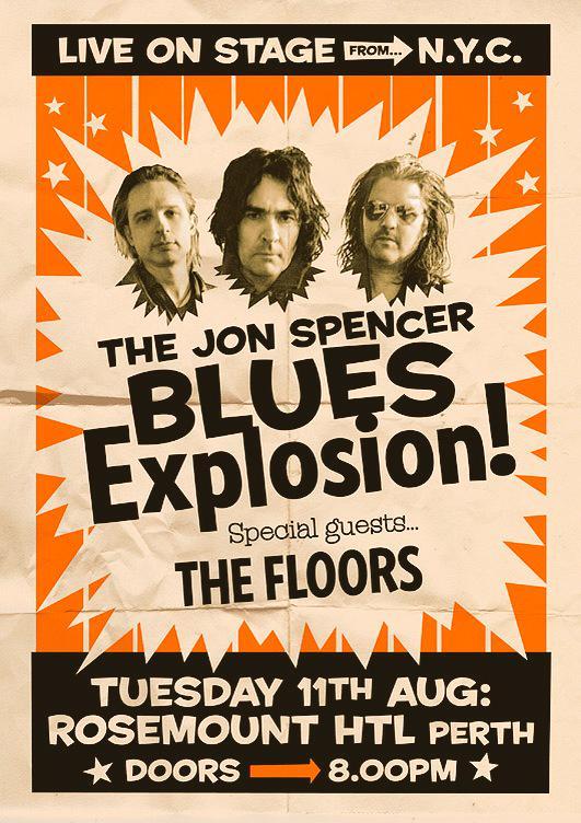 The Jon Spencer Blues Explosion - The Rosemount, Perth, Australia (11 August 2015)