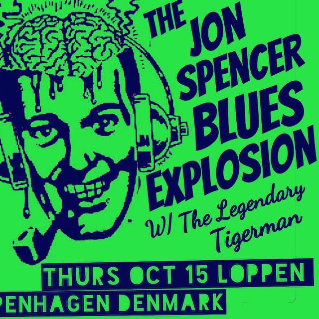 The Jon Spencer Blues Explosion – Loppen, Copenhagen, Denmark (15 October 2015)