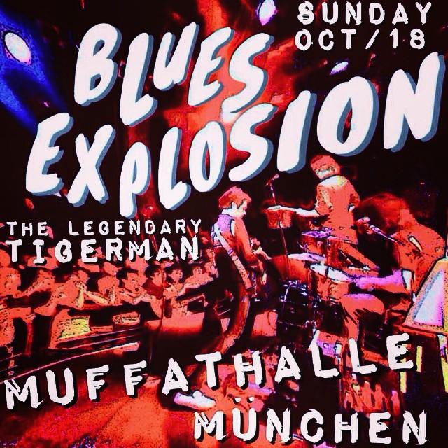 The Jon Spencer Blues Explosion – Ampere / Muffatwerk, München, Germany (18 October 2015)