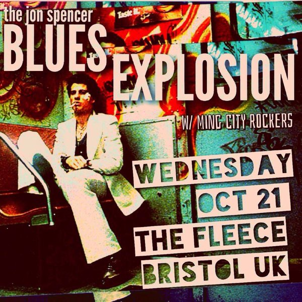 The Jon Spencer Blues Explosion – The Fleece, Bristol, UK (21 October 2015)