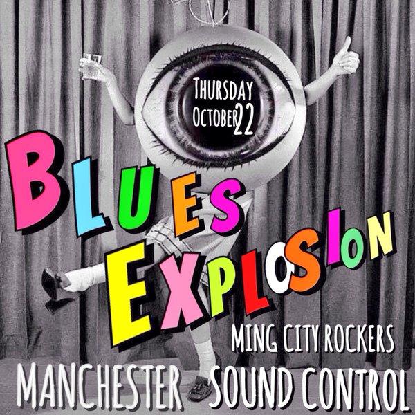 The Jon Spencer Blues Explosion – Sound Control, Manchester, UK (22 October 2015)
