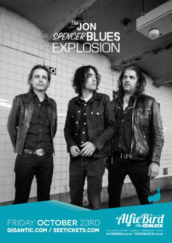 The Jon Spencer Blues Explosion – The Oobleck, Birmingham, UK (23 October 2015)