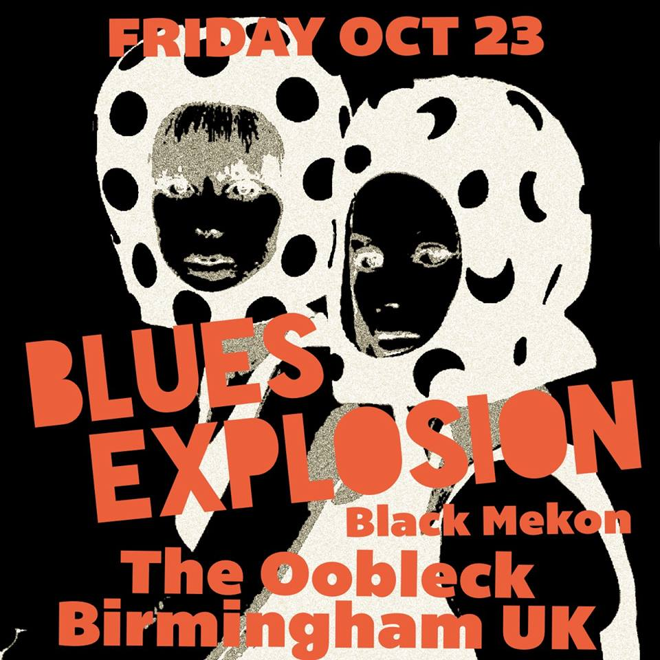 The Jon Spencer Blues Explosion - The Oobleck, Birmingham, UK (23 October 2015)