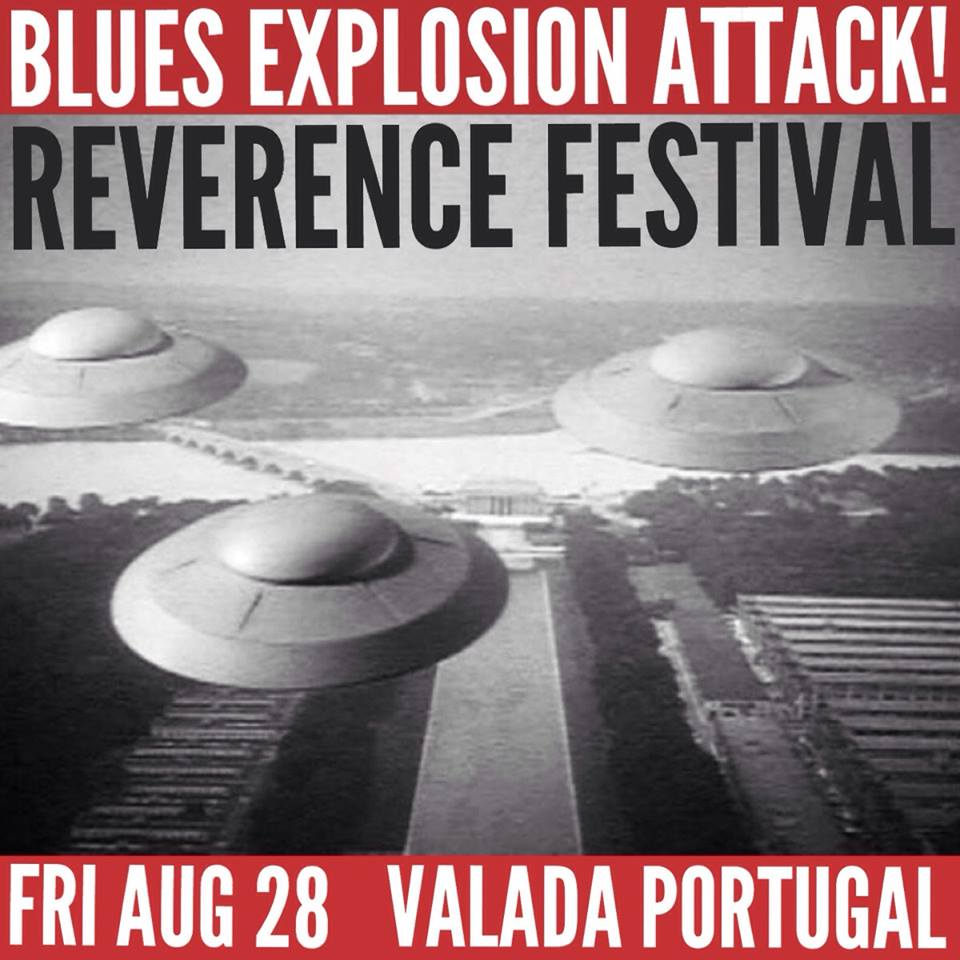 The Jon Spencer Blues Explosion – Reverence Festival, Valada, Portugal (28 August 2015)