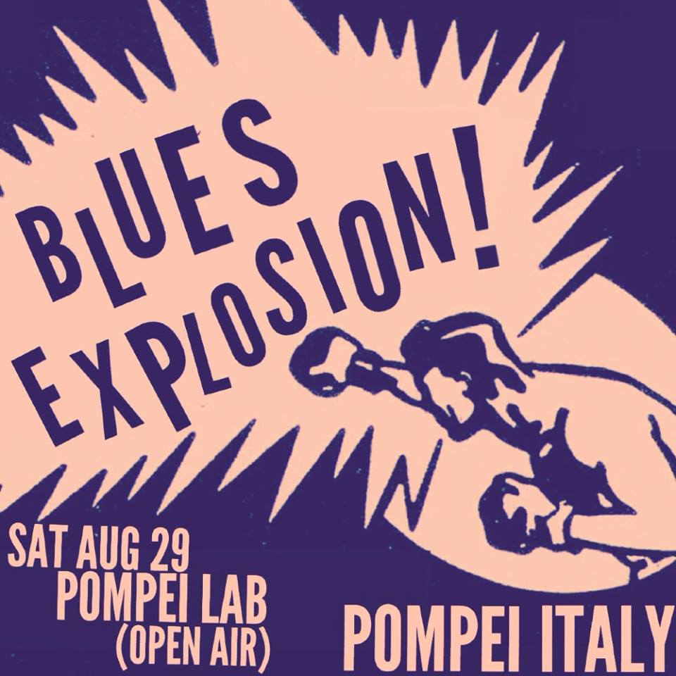 The Jon Spencer Blues Explosion – Pompei Lab (Open Air) / Anteprima Rockalvi Festival, Pompei, Napoli, Italy (29 August 2015)