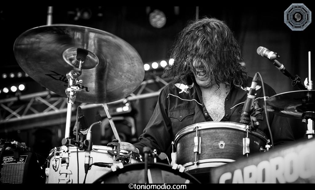 The Jon Spencer Blues Explosion – Garorock, Marmande, France (26 June 2015) - Anthony Batista