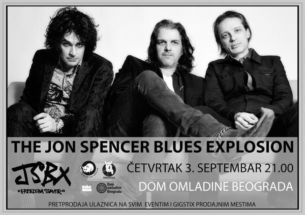 The Jon Spencer Blues Explosion – Dom Omladine, Beograda, Serbia (3 September 2015)