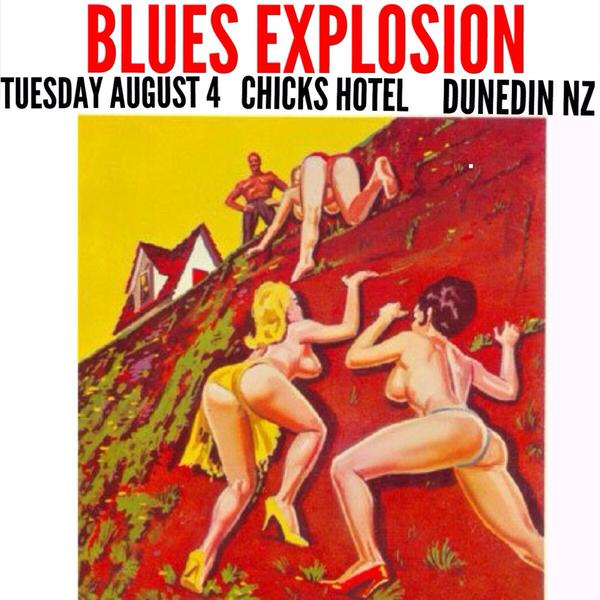 The Jon Spencer Blues Explosion - Chicks Hotel, Port Chalmers, Dunedin, New Zealand (4 August 2015)