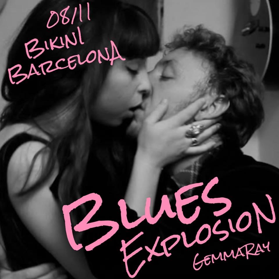 The Jon Spencer Blues Explosion – Bikini, Barcelona, Spain (8 November 2015)
