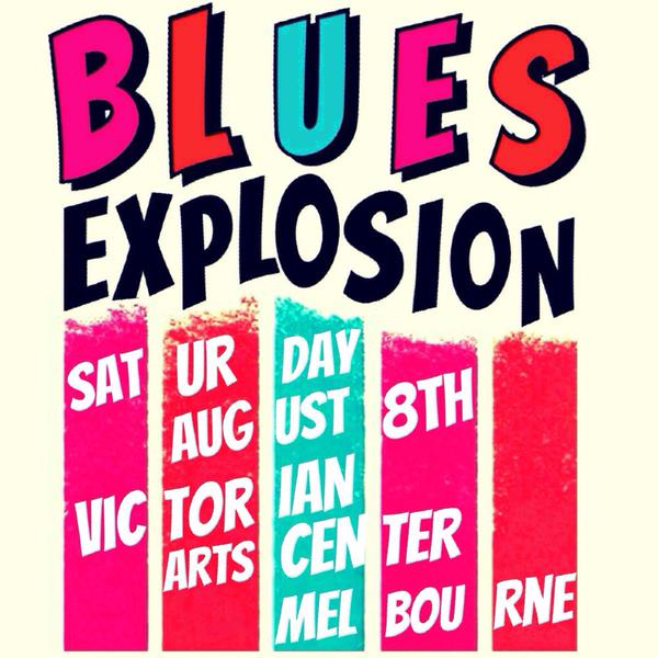 The Jon Spencer Blues Explosion – Supersense Festival, Melbourne, Australia (8 August 2015)
