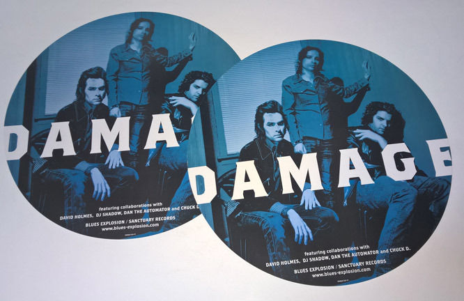 Blues Explosion - Damage (POSTER, US) - Front