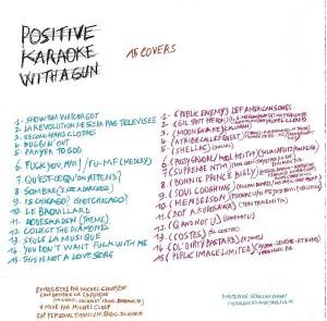 Experience - Positive Karaoke With A Gun / Negative Karaoke With A Smile [Promo] (CD/DVD, FRANCE)  - Rear