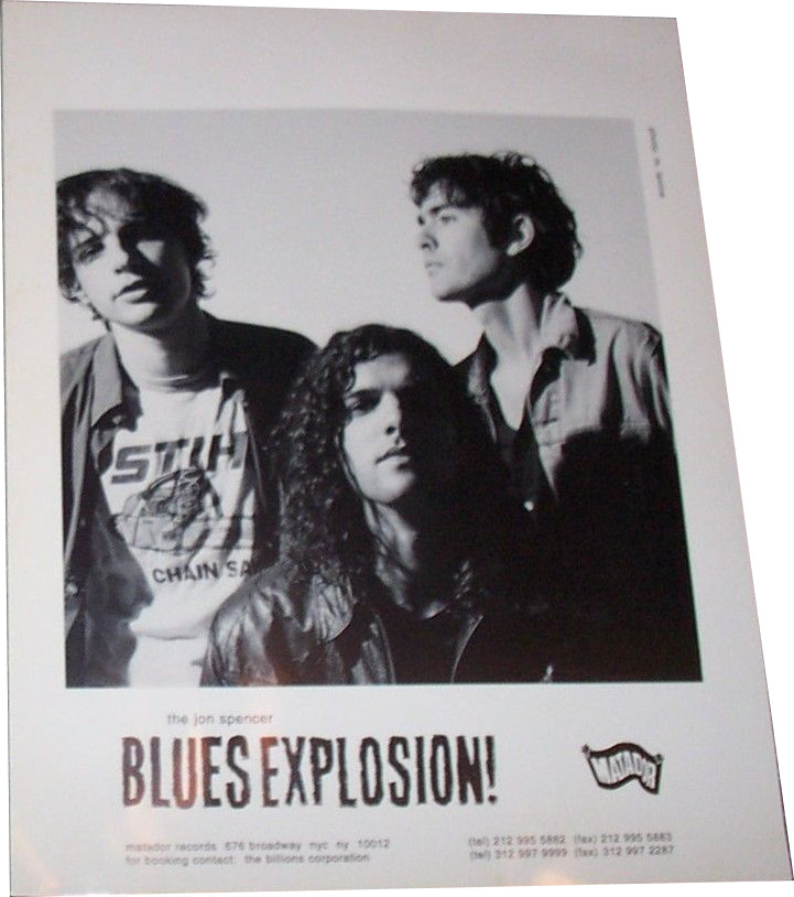 The Jon Spencer Blues Explosion – Promotional Photo [#23] (PHOTO, US)