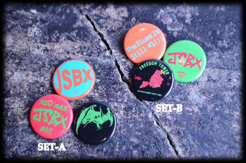 The Jon Spencer Blues Explosion - Rude Gallery: Badges (BADGES, JAPAN)