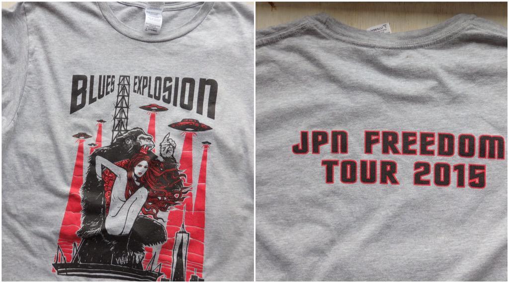 The Jon Spencer Blues Explosion - Freedom Tower Tour [Malleus] (SHIRT, JAPAN)
