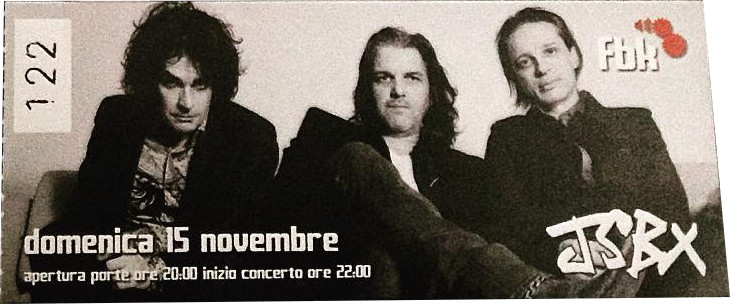 The Jon Spencer Blues Explosion - Fabrik, Cagliari, Italy (15 November 2015)