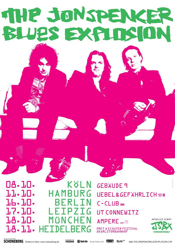The Jon Spencer Blues Explosion – Gebäude 9, Köln, Germany (8 October 2015)