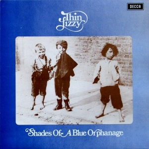 Thin Lizzy ‎– Shades of A Blue Orphanage (LP, UK) - Cover