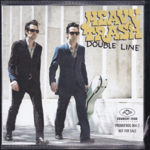 Heavy Trash - Double Line [Promo] (CD, DENMARK) - Cover