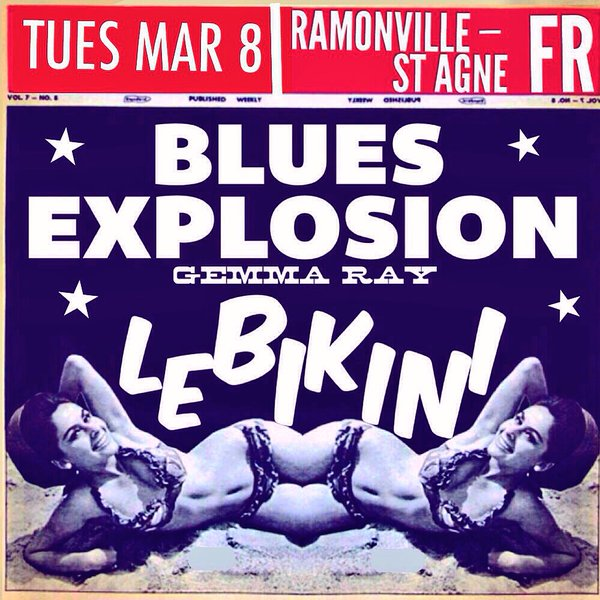 The Jon Spencer Blues Explosion – Le Bikini, Ramonville-Saint-Agne, France (8 March 2016)