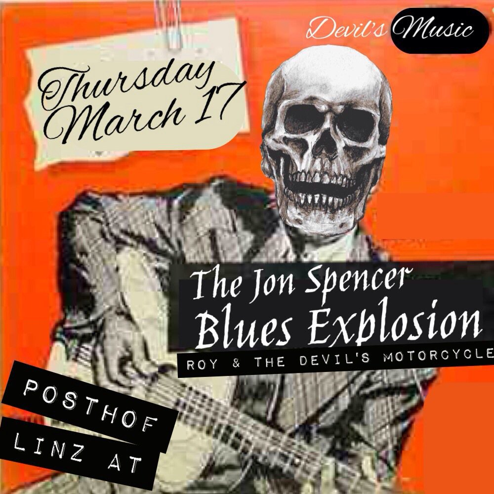 The Jon Spencer Blues Explosion – Postof, Linz, Austria (17 March 2016)