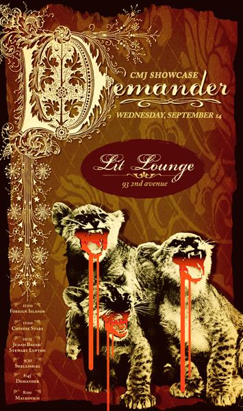 Judah Bauer / Stuart Lupton - Lit Lounge, New York City, New York, US (14 September 2005)