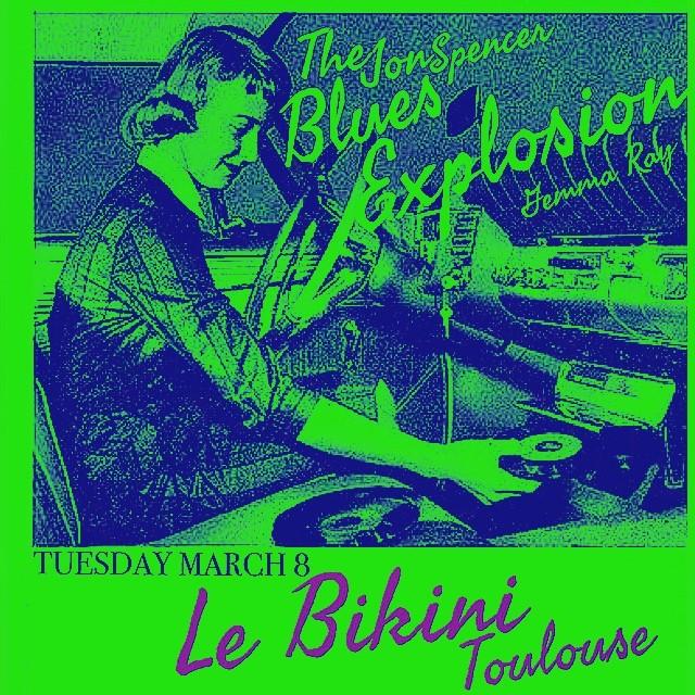 The Jon Spencer Blues Explosion – Le Bikini, Ramonville-Saint-Agne, France (8 March 2016)