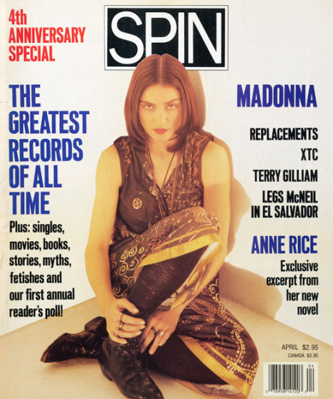 Pussy Galore - Spin: The Pussy Identity (PRESS, US) - Cover