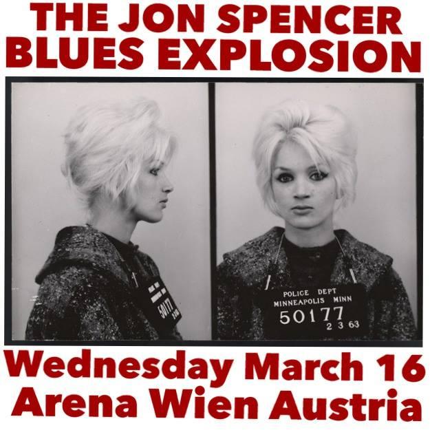 The Jon Spencer Blues Explosion - Arena Wien, Vienna, Austria (16 March 2016)