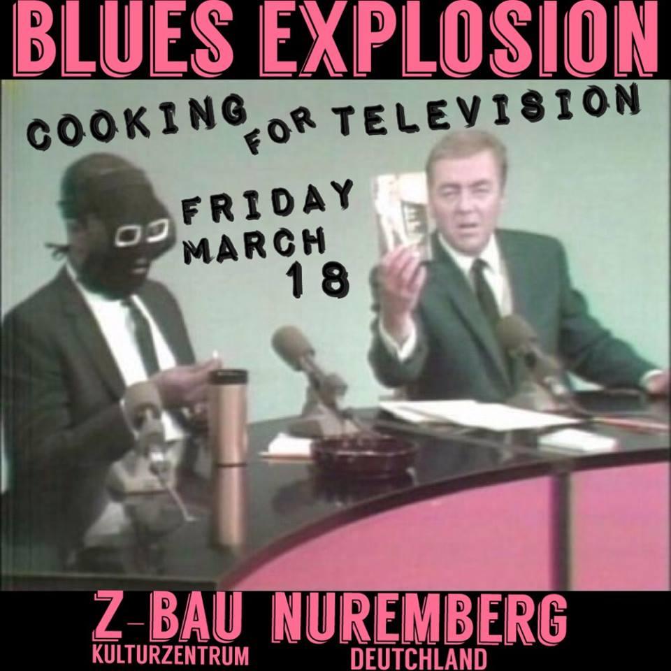 The Jon Spencer Blues Explosion – Z-Bau, Nürnberg, Germany (18 March 2016)