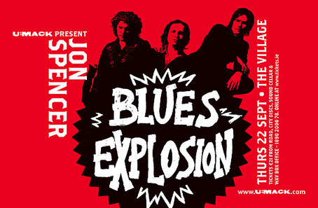 The Jon Spencer Blues Explosion - The Village, Dublin, Ireland (22 September 2005)