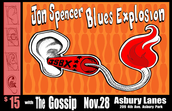 The Jon Spencer Blues Explosion - Asbury Lanes, Asbury Park, NJ, US (28 November 2004)