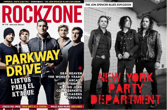 The Jon Spencer Blues Explosion – Rockzone: New York Party Department (PRESS, SPAIN)