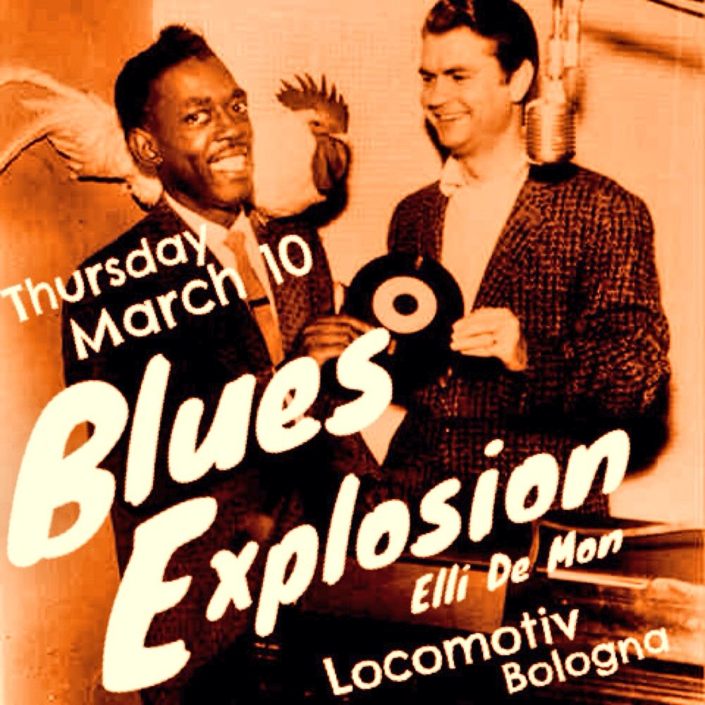 The Jon Spencer Blues Explosion – Locomotiv Club, Bologna, Italy (10 March 2016)