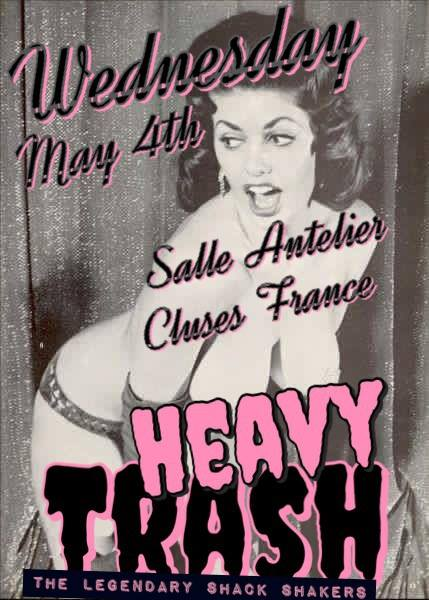 Heavy Trash – L'Atelier, Cluses, France (4 May 2016)