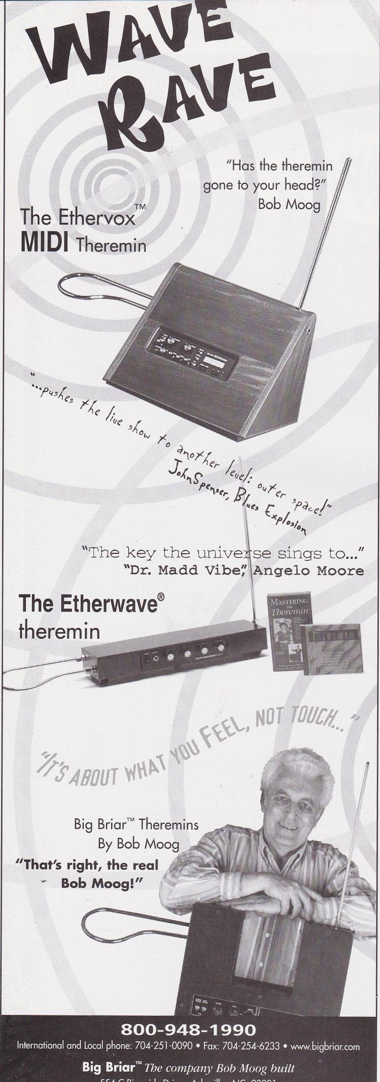 Jon Spencer - Wave Rave (ADVERT, US)