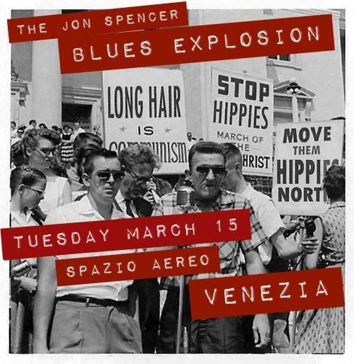 The Jon Spencer Blues Explosion – Spazio Aereo, Venezia, Italy (15 March 2016)