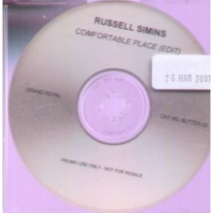 Russell Simins - Comfortable Place (Edit) [Promo] [CDR] (CD, US)