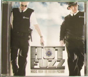 V/A feat. Jon Spencer and The Elegant Too - Hot Fuzz: Music From The Motion Picture (CD, AUSTRALIA) - Cover