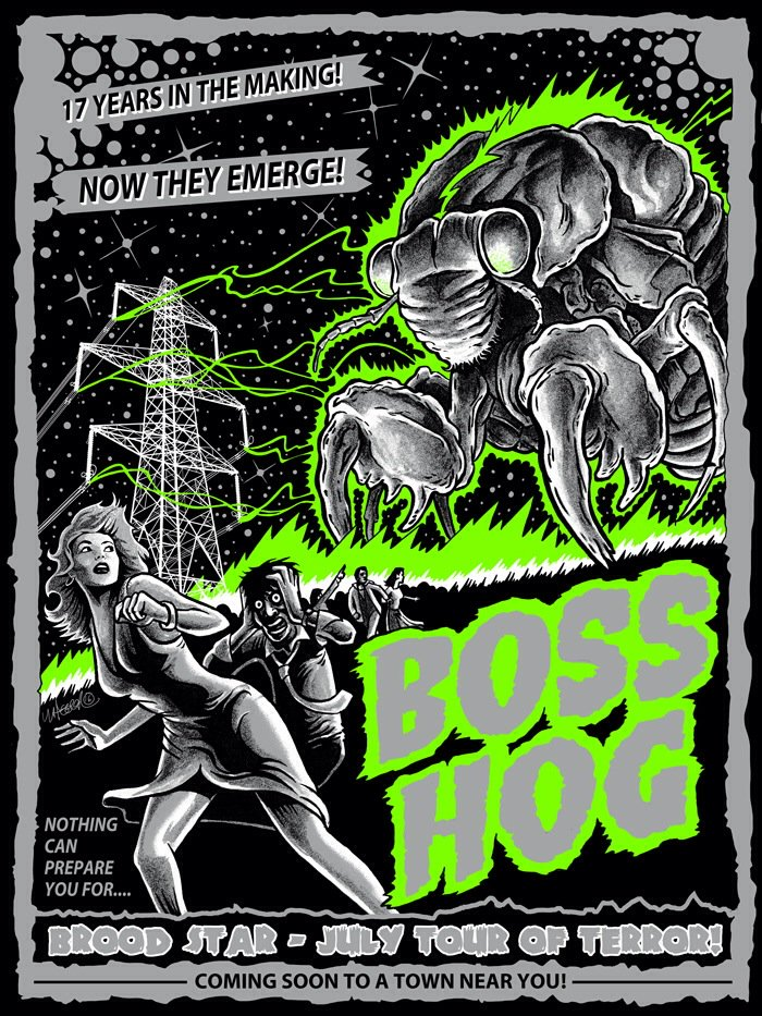 Boss Hog – West Coast Tour Dates (11 – 16 July 2016)