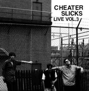 Cheater Slicks - Live Vol. 3 (LP, US) - Cover