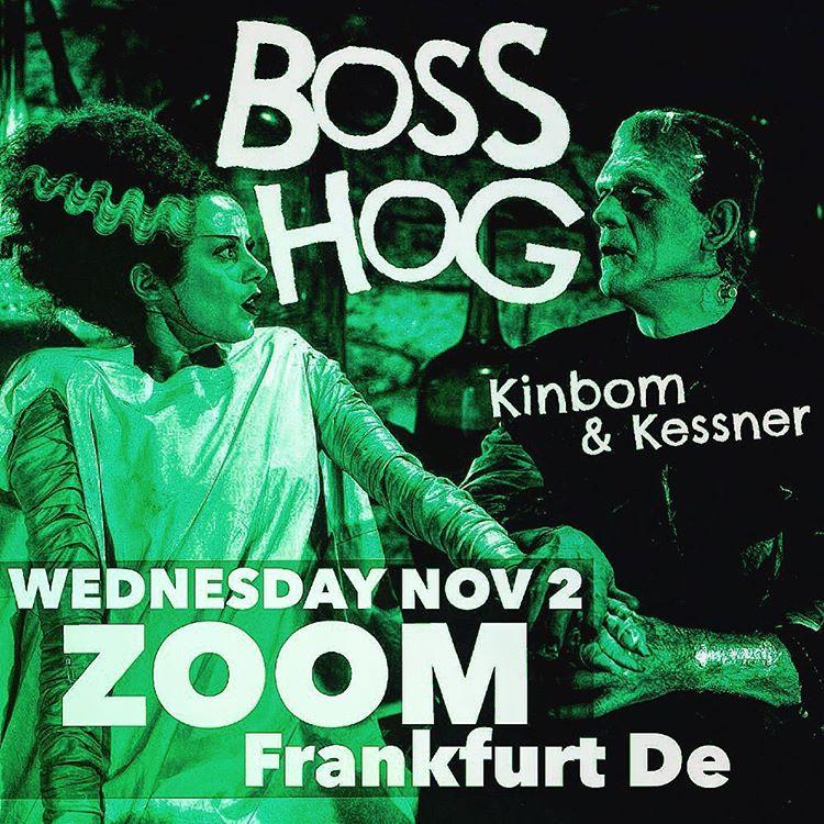 Boss Hog – Zoom, Frankfurt, Germany (2 November 2016)