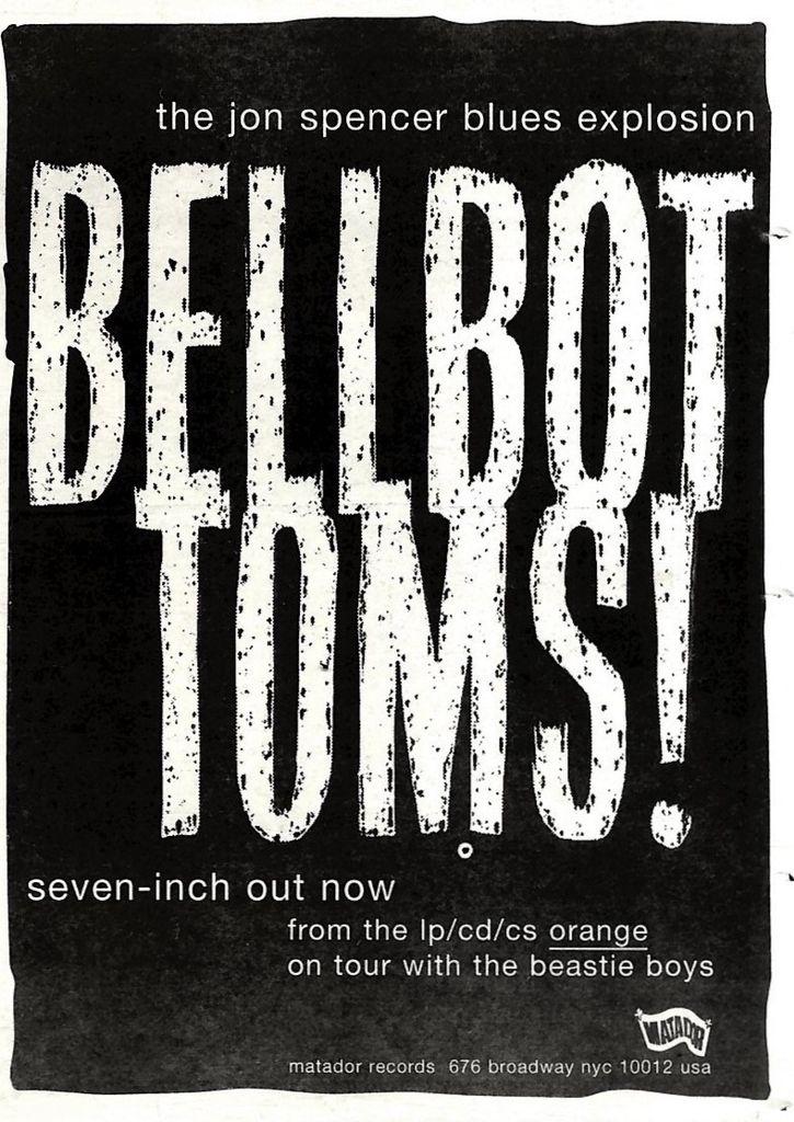 The Jon Spencer Blues Explosion - Bellbottoms (ADVERTISEMENT, UK)
