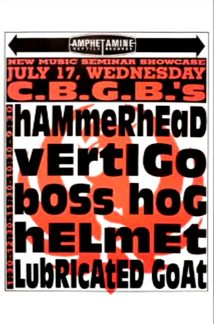 Boss Hog – CBGB's, New York City, NY, US (17 July 1991)