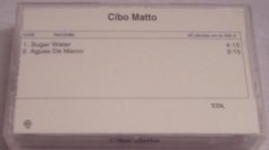 Cibo Matto - Sugar Water / Águas de Março [Promo] (CASSETTE, US) - Cover